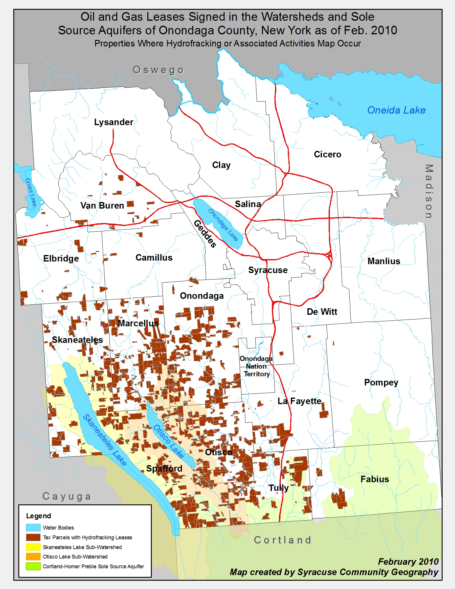 Watersheds Sole Source Aquifer With Leases