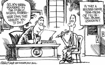 Source: Mike Keefe, Denver Post, 2002