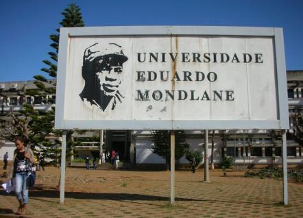 Eduardo Mondlane University in Maputo, Mozambique.